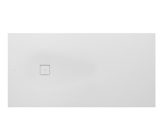 SHOWER TRAYS | XXL superslim shower tray with side waste | Off White by Armani Roca | Shower trays