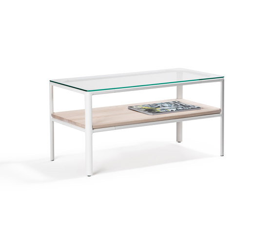 Crest table with double tops de Materia   Tables basses