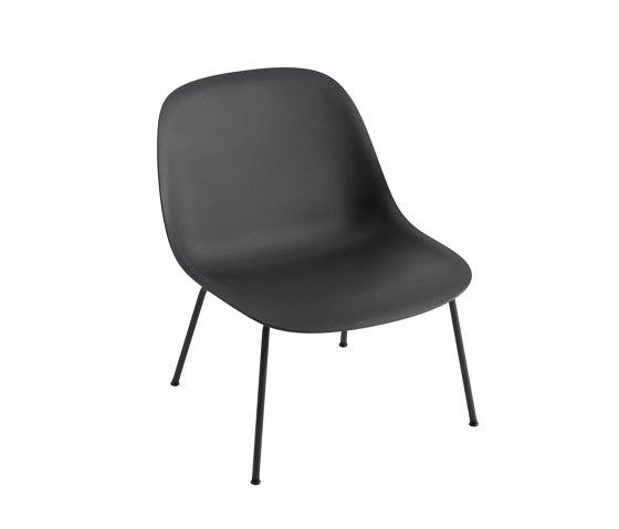 Fiber Lounge Chair | Wood Base by Muuto | Armchairs