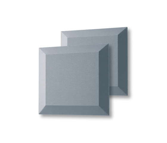 Acoustic tiles Sound Balance, 40 x 40 cm, dark grey, set of 2 by Sigel | Sound absorbing objects