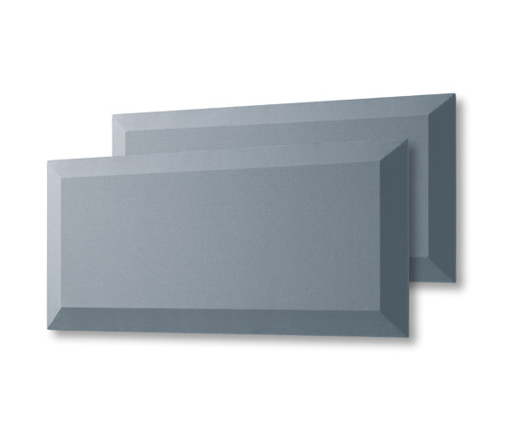 Acoustic tiles Sound Balance, 80 x 40 cm, dark grey, set of 2 by Sigel | Sound absorbing objects