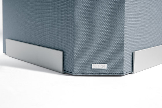 Acoustic tower Sound Balance, 45 x 110 cm, dark grey by Sigel | Privacy screen