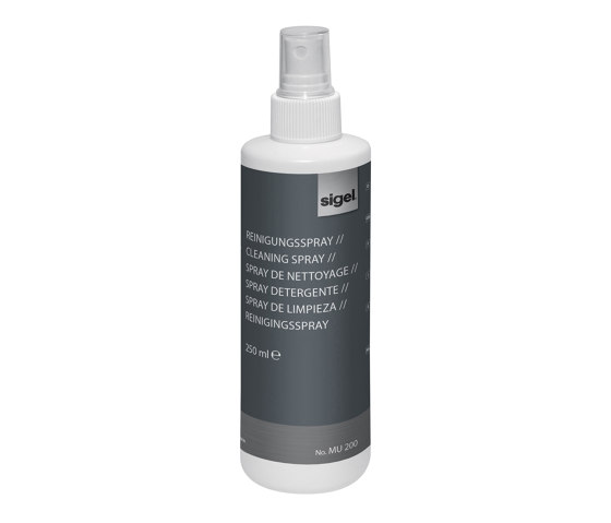 Cleaning spray by Sigel   Desk accessories