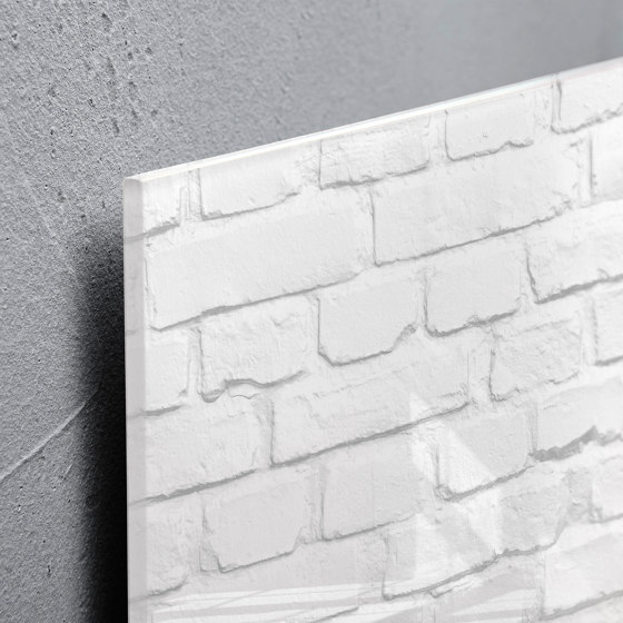 Magnetic Glass Board Artverum, 130 x 55 cm by Sigel   Flip charts / Writing boards