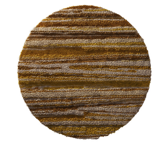 70's | Burnt Yellow Rug by CRISTINA JORGE DE CARVALHO FURNITURE COLLECTION | Rugs