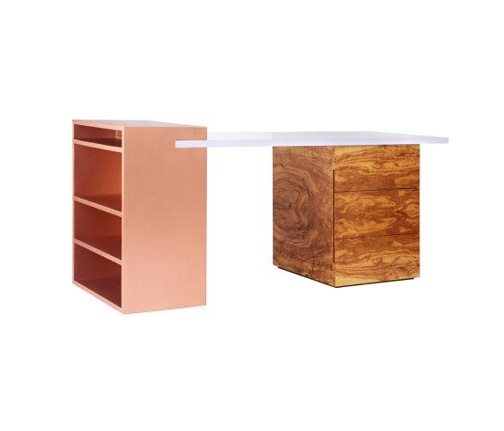 Coppertone   Coppertone Desk de CRISTINA JORGE DE CARVALHO COLLECTIONS   Bureaux