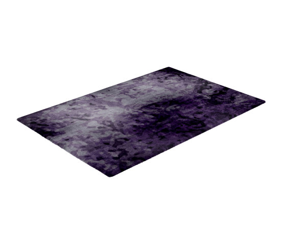 Fortuny | Deep Purple Rug by CRISTINA JORGE DE CARVALHO COLLECTIONS | Rugs