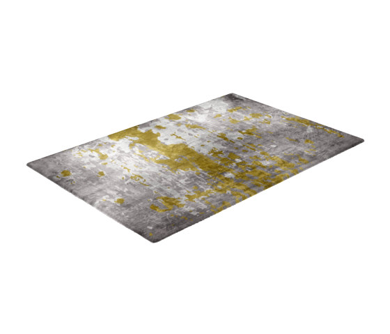 Fortuny | Mellow Yellow Rug by CRISTINA JORGE DE CARVALHO COLLECTIONS | Rugs