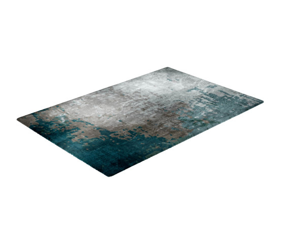 Fortuny | Moody Blues Rug by CRISTINA JORGE DE CARVALHO COLLECTIONS | Rugs