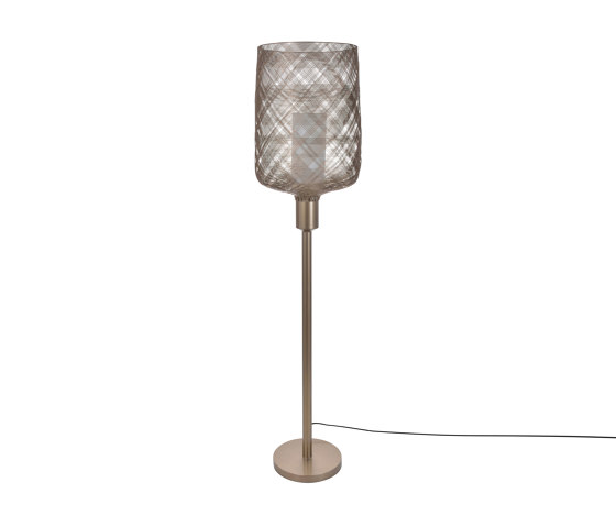Antenna | Floor Lamp | Champagne de Forestier | Lámparas de pie