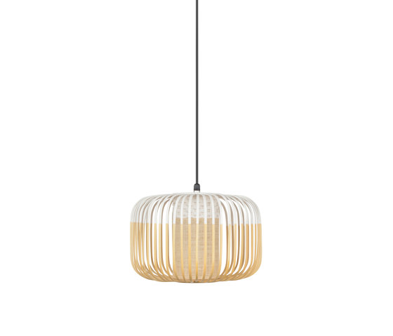 Bamboo | Pendant Lamp | S White | Outdoor by Forestier | Outdoor pendant lights