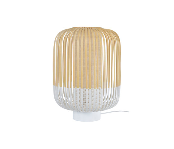 BAMBOO | LAMPE | M blanc de Forestier | Luminaires de table