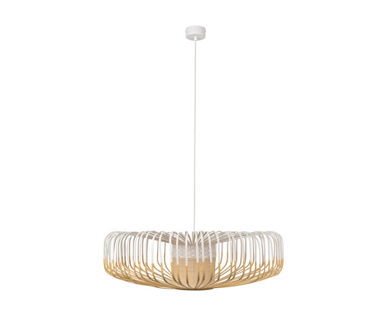 Bamboo Up   Pendant Lamp   Up XXL White by Forestier   Suspended lights