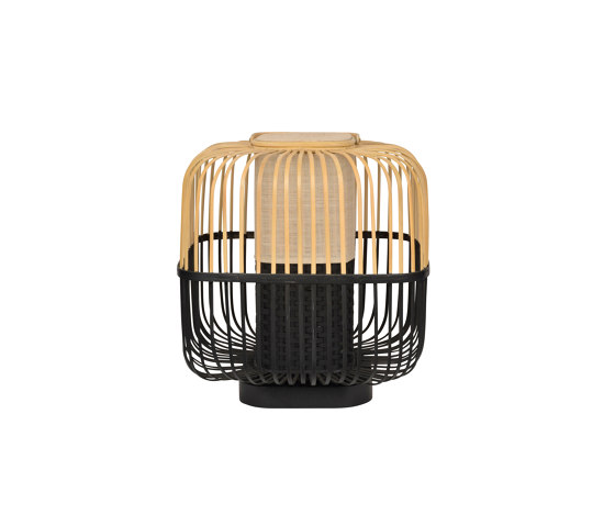 BAMBOO-square   LAMPE   M noir de Forestier   Luminaires de table