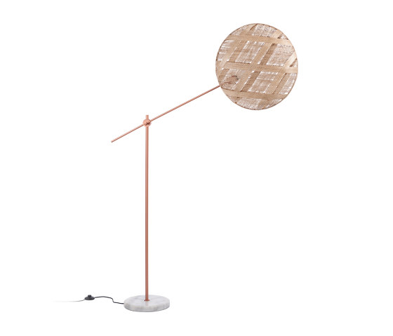 Chanpen | Floor Lamp | L Copper/Natural by Forestier | Free-standing lights