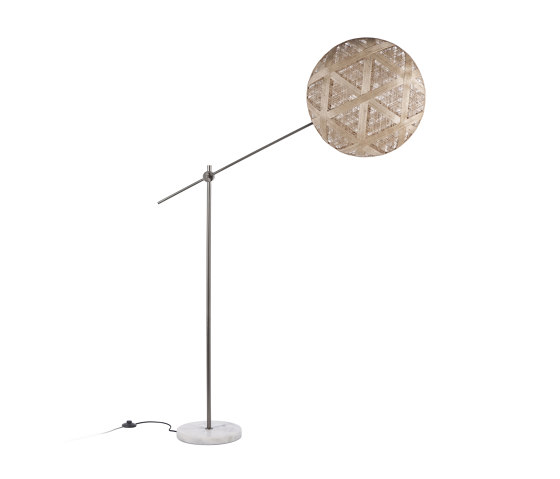 Chanpen | Floor Lamp | L Metal/Natural by Forestier | Free-standing lights