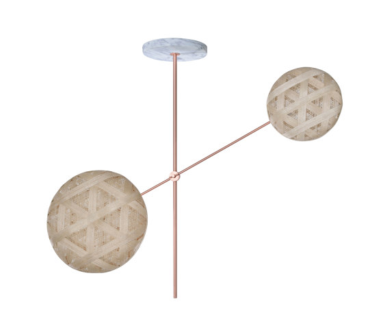 Chanpen   Pendant Lamp   S Copper by Forestier   Suspended lights