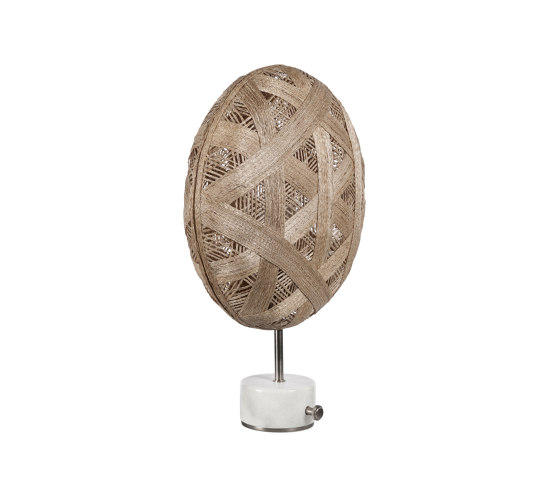 Chanpen   Table Lamp   S Metal/Natural by Forestier   Table lights