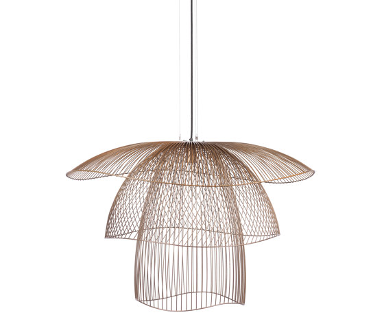 Papillon | Pendant Lamp | L Champagne by Forestier | Suspended lights