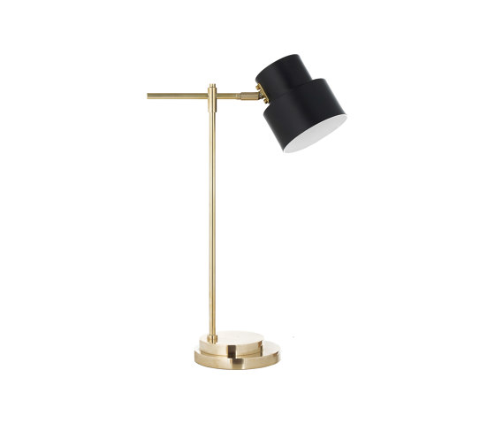 Satellite | Industrial-chic medium table lamp by Il Bronzetto - Brass Brothers & Co | Table lights