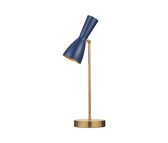 Wormhole | Vintage Table lamp de Il Bronzetto - Brass Brothers & Co | Luminaires de table