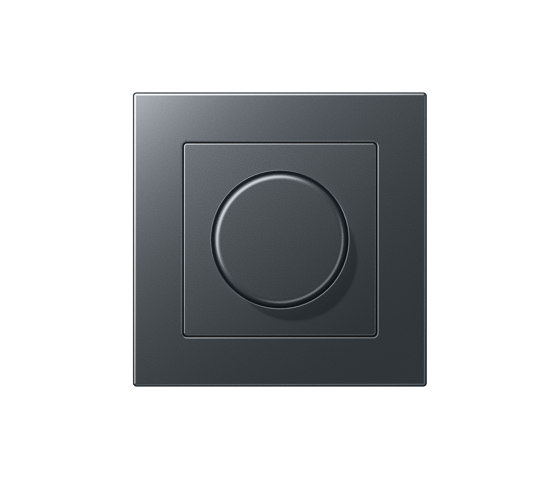 A 550   Drehdimmer Anthrazit by JUNG   Rotary switches