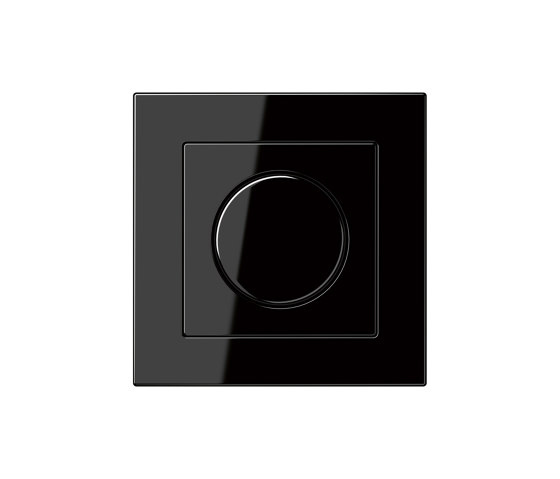 A 550 | Drehdimmer Schwarz by JUNG | Rotary switches