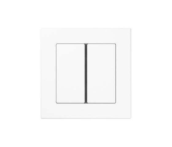 A 550 Tastsensor F 40 2fach Weiß di JUNG | interuttori pulsante