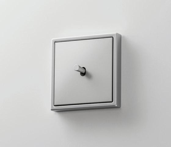 LS 1912 | Aluminium Kippschalter Kegel by JUNG | Toggle switches