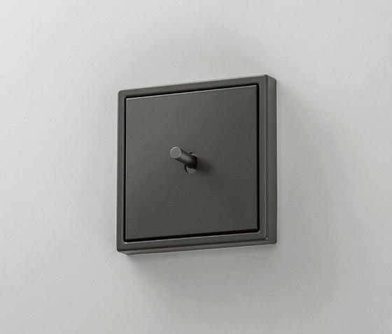 LS 1912 | Dark Kippschalter Zylinder by JUNG | Toggle switches