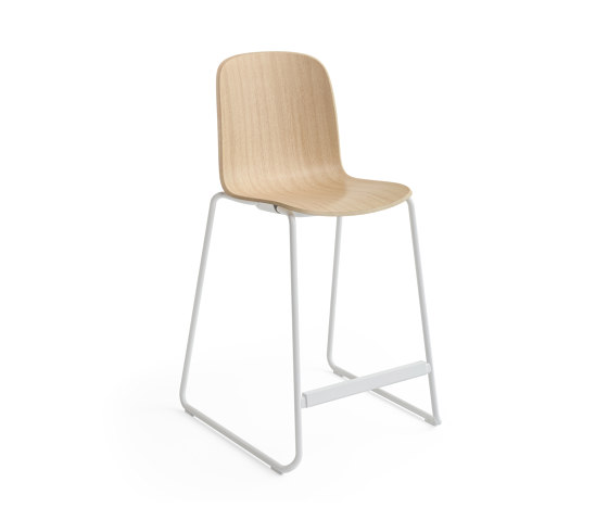 Cavatina Sled Barstool by Steelcase   Bar stools