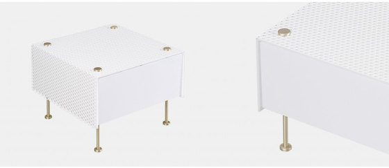G61S WH/WH by SAMMODE | Table lights