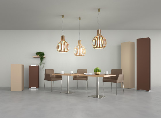 Menhir by Caruso Acoustic by Lamm   Sound absorbing freestanding systems