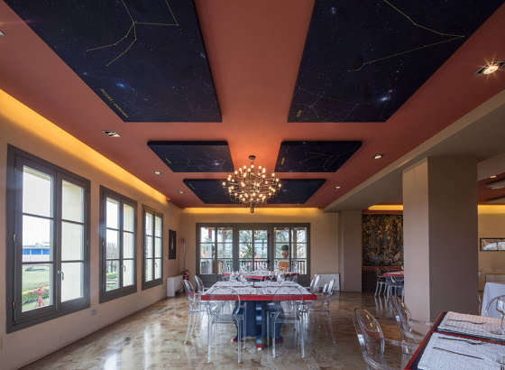 Silente Adherence by Caruso Acoustic | Ceiling panels