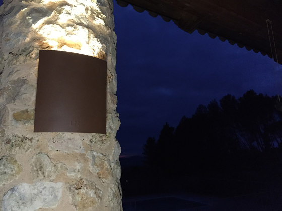 LED wall lamp | AP 010 by LYX Luminaires | Outdoor wall lights