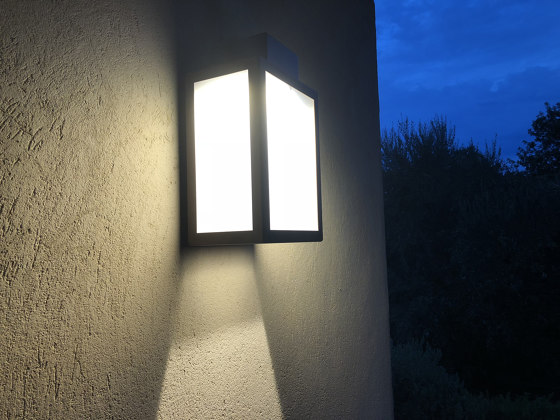 LED wall lamp | AP 030 by LYX Luminaires | Outdoor wall lights
