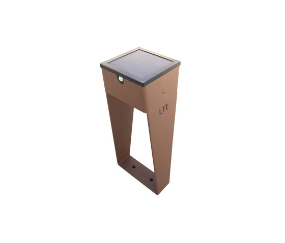 SOLAR pathway light | BTS 400 by LYX Luminaires | Outdoor floor-mounted lights