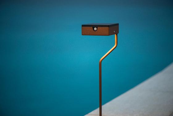 SOLAR pathway light | TEE by LYX Luminaires | Outdoor floor-mounted lights