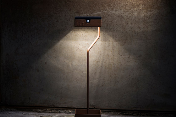 SOLAR pathway light | TEE on TOP by LYX Luminaires | Outdoor floor-mounted lights