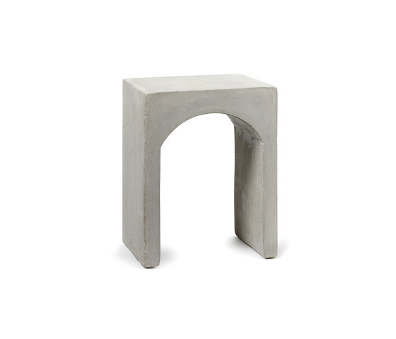 Roman Bench Single Concrete de Serax | Mesas auxiliares