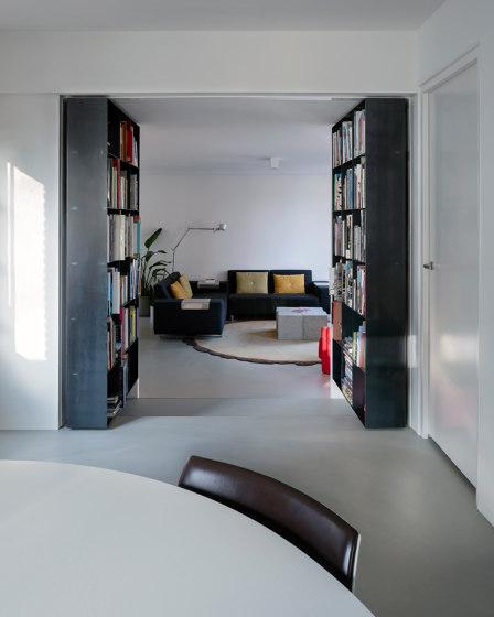 System 3 | Pivoting Bookshelf Doors by FritsJurgens | Hinges
