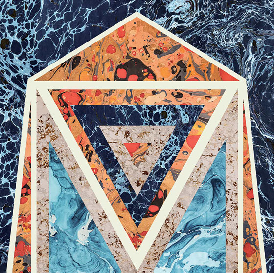 Araldica | Blasone Blu by FLORIM | Ceramic panels