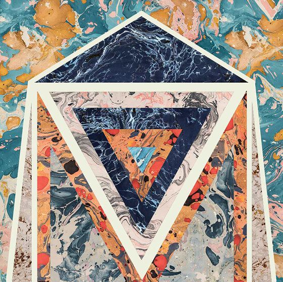 Araldica | Blasone Azzurro by FLORIM | Ceramic panels