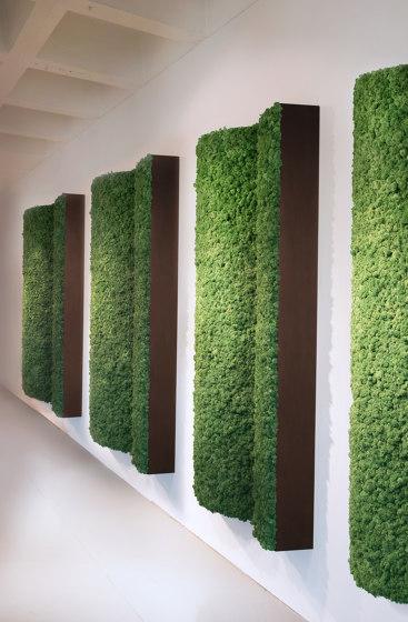 Angled Pillars by Greenmood | Living / Green walls