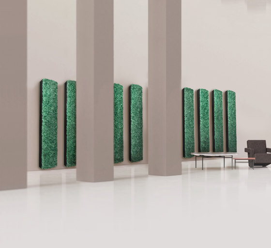 Angled Pillars di Greenmood | Pareti vegetali