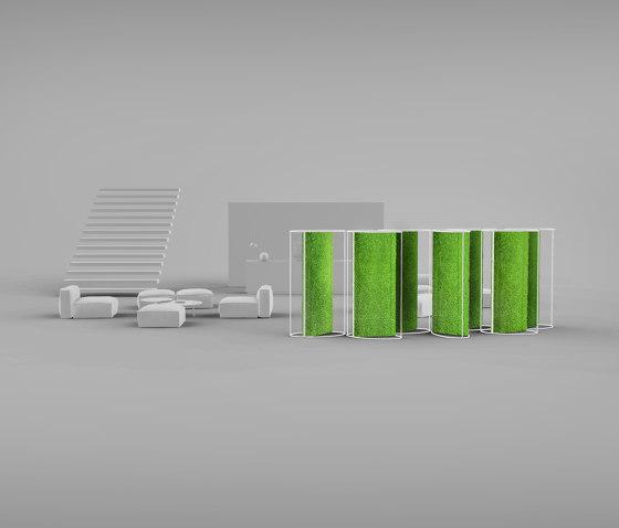 G-Dividers di Greenmood | Sistemi assorbimento acustico autoportanti