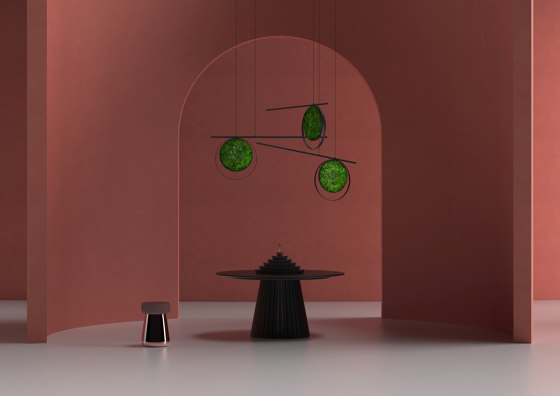 Tail by Greenmood | Sound absorbing suspended panels
