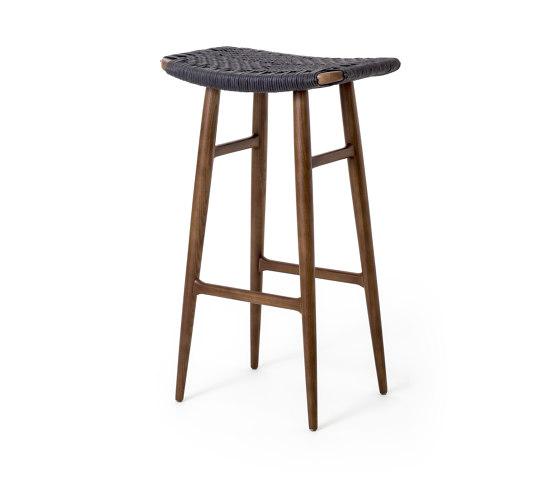 Freja Bar Stool SH750 Paper Cord Seat by Stellar Works   Bar stools