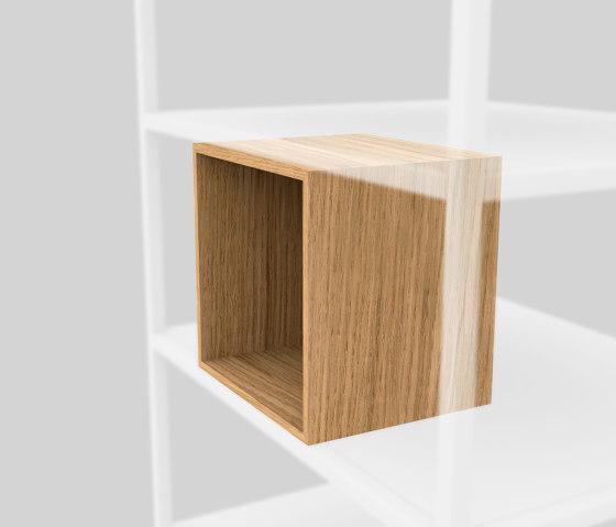 Würfel aus Holz von Artis Space Systems GmbH | Regale