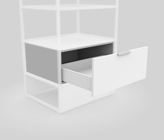 Box mit Schublade 650 von Artis Space Systems GmbH | Regale
